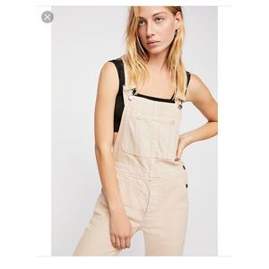 Free people boyfriend overall